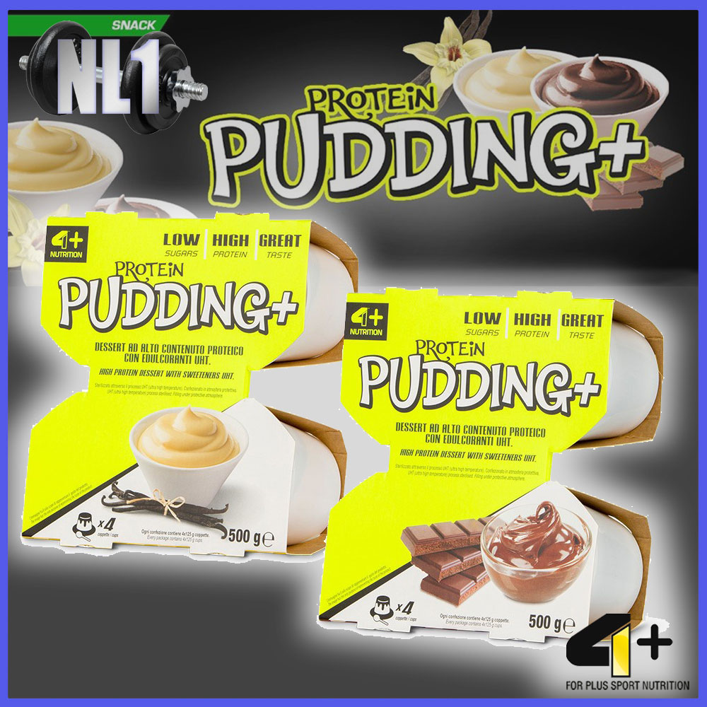 PROTEIN PUDDING+ [125GX4=500G]