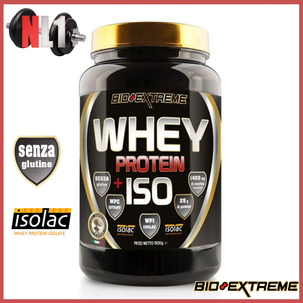 WHEY PROTEIN + ISO [1500 G]