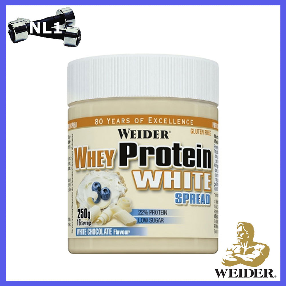WHEY PROTEIN WHITE SPREAD 250G