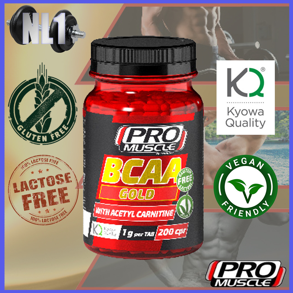 BCAA GOLD [200 CPR] PRO MUSCLE