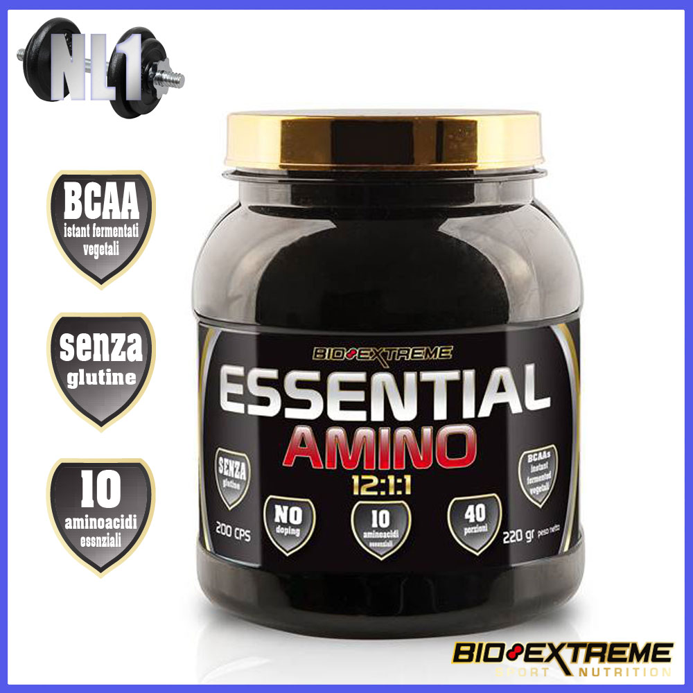 ESSENTIAL AMINO 12:1:1 [200 CPS] - BIOEXTREME