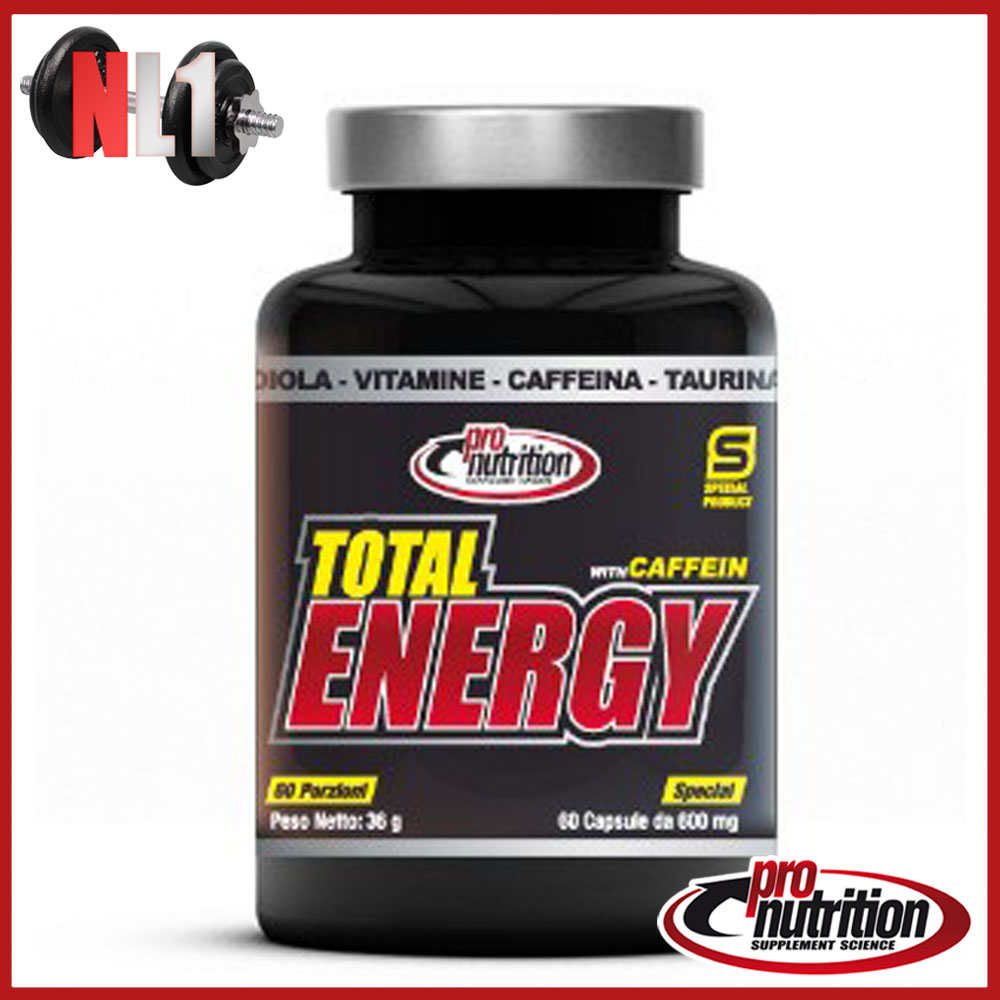 TOTAL ENERGY [60 CPS] - PRO NUTRITION