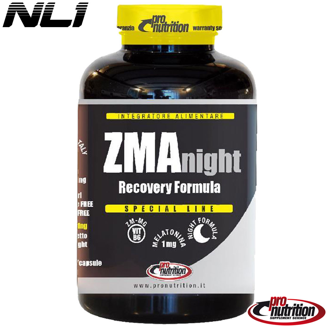 ZMA NIGHT Recovery Formula [90 CPS] - PRO NUTRITION